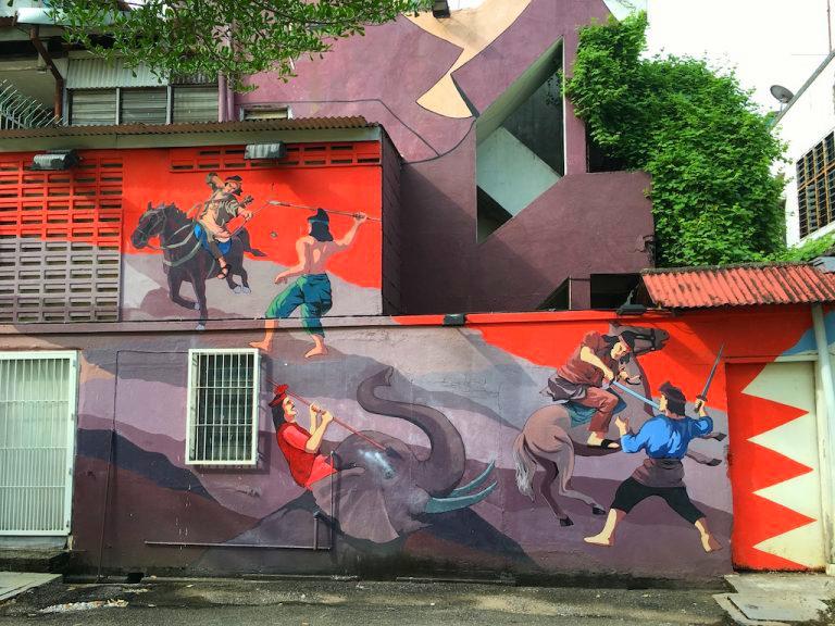 StreetArt Malacca 3